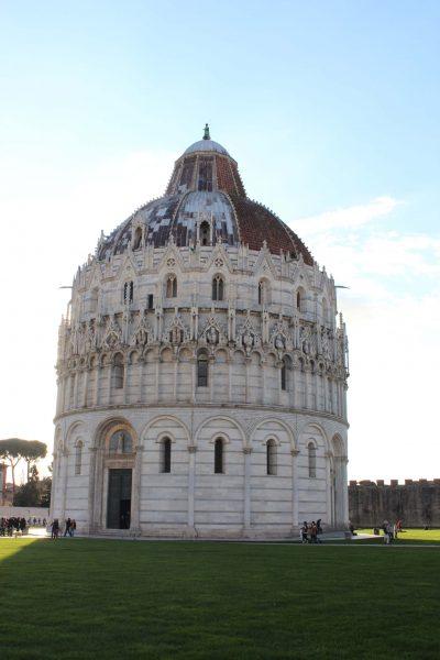 Roteiro em Pisa - Battistero