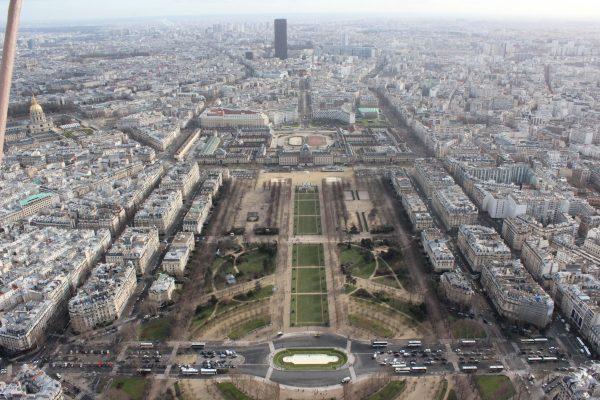 Visitar Paris em 4 dias- vista da Torre Eiffel