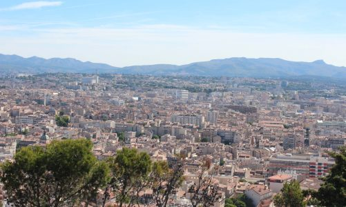 Marselha, a bela cidade de França