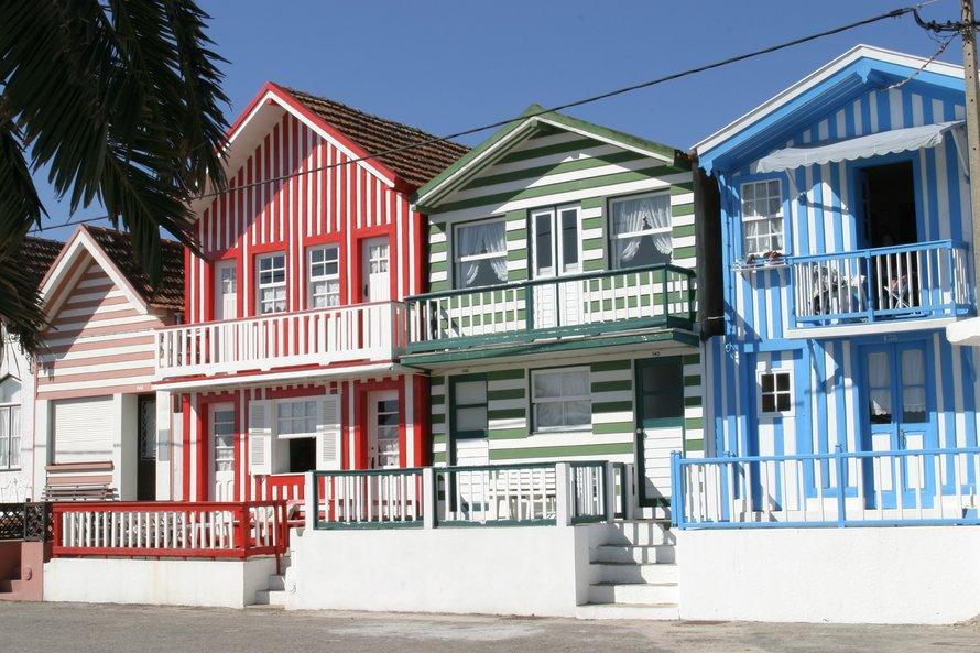 Costa Nova - cidades fora do roteiro em Portugal