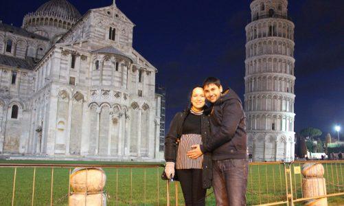 Roteiro em Pisa