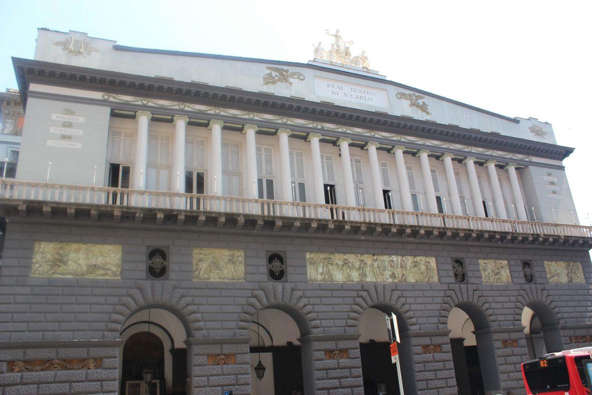 o que fazer em Nápoles - Teatro São Carlos