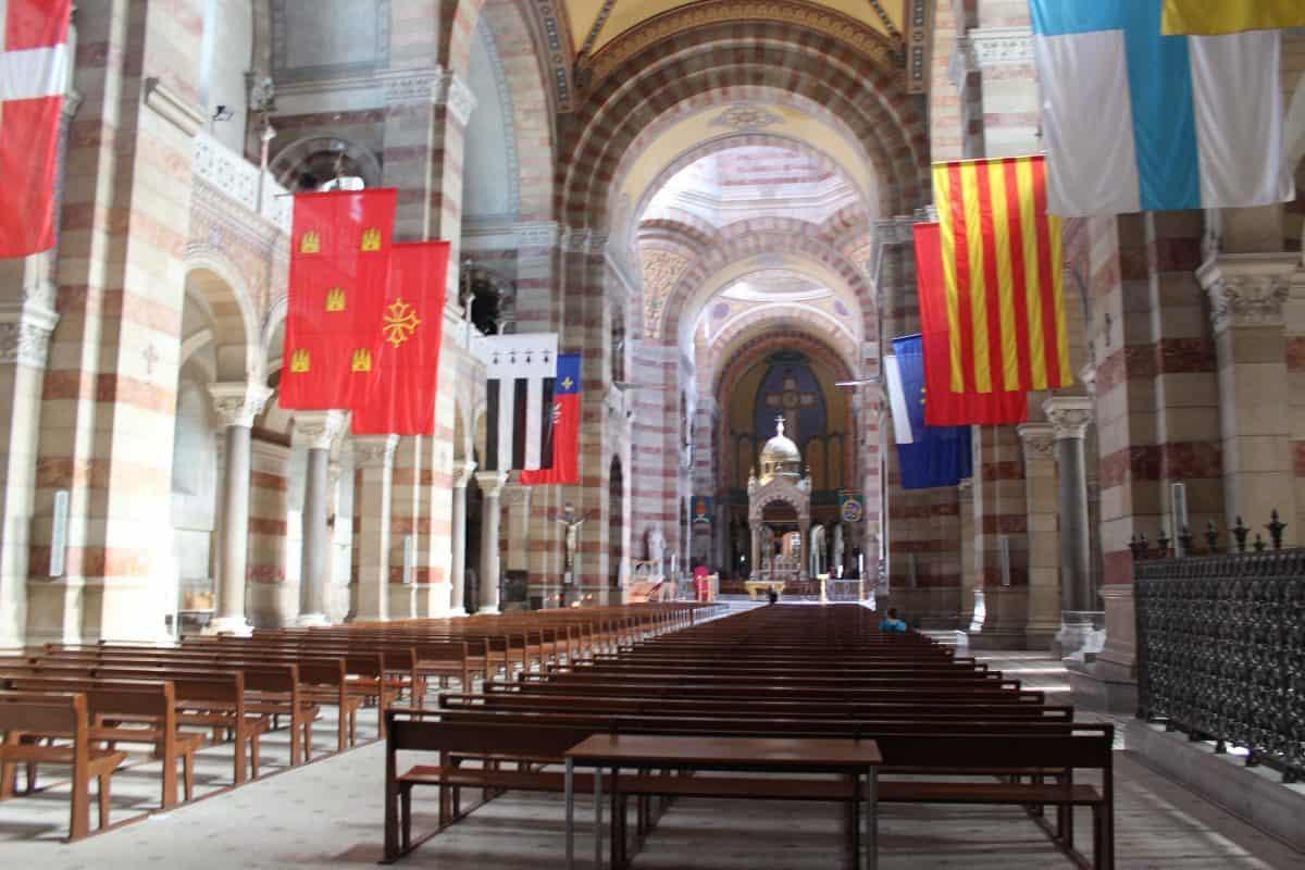 Catedral de Marselha - Interior