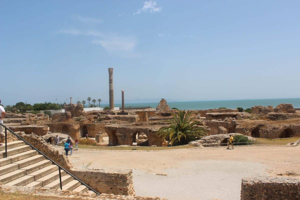 As Termas de Antonino no Sítio Arqueológico de Cartago