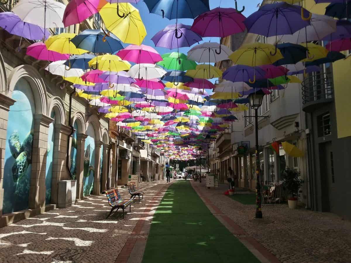 Locais instagramáveis em Portugal - Águeda