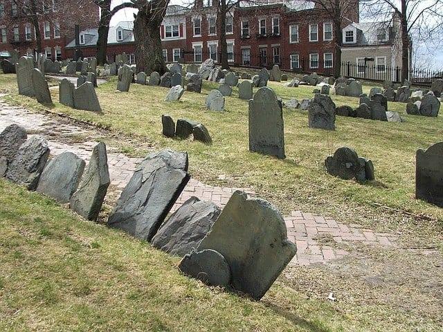 Freedom Trail - Copp's Hill Burying Ground