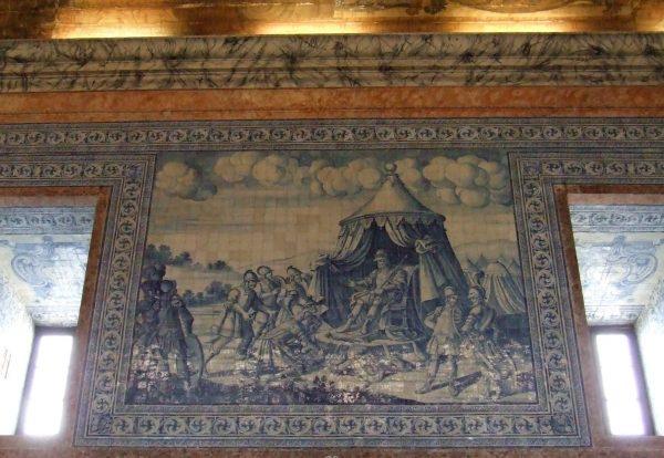 Estrada Nacional 2 - Painel de Azulejos da Basílica